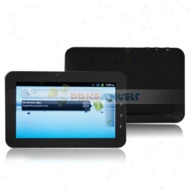 2gb Android 2.3 Mtk 6513 650mhz 7-inch Capacitive Touch Screen Phone Gps Tabletc Pc