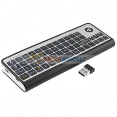 3-in-1 2.4g Ir Wireless Keyboard Trackball Mouse Remote Control