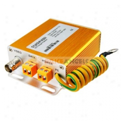 3 In1 Cctv Video/data/power Lightning Surge Protection Arrester