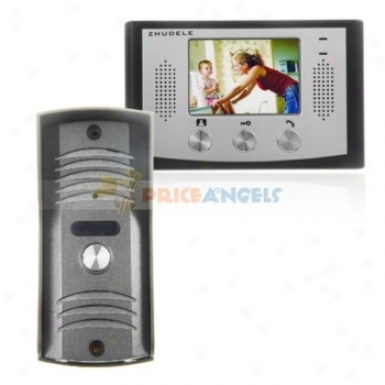 3.5-inch Tft-lcd Nighht Vision Vireo Door Phone Attack Control System