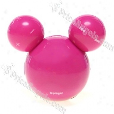 3rd Generation 10 Led Face Changing 2gb Mplayer/mickey Mouse Style Mp3 Player (magenta)