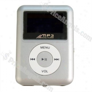 3rd Generation Classic Lcd Dixplay Usb Rechargeable Mini Digital Mp3 Player With Built-in 2gb Memory (Gentle)