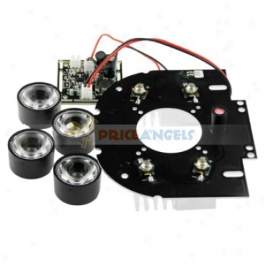 4-led Security Camera Ir Infrared Illuminator Board Plate With 45 Degree Lens