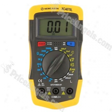 4070l 3diigtal Lcr Multimeter Multitester (yellow)