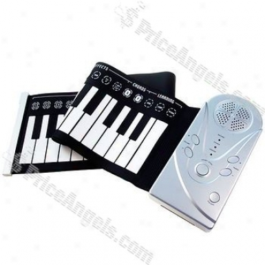 49-key Foldable Sensitive Digital Piano Keyboard