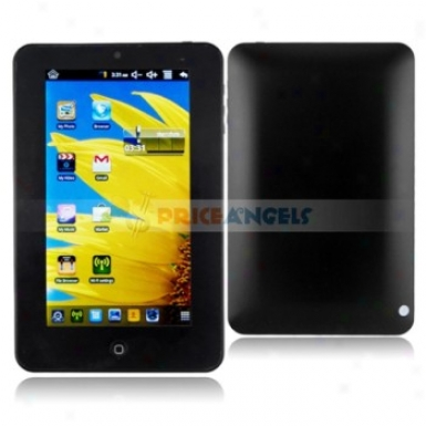 4g Android Order Via 8650 800mhz 7-inch Touch Scrsen Tablet Pc Laptop With Camera Wifi(black)