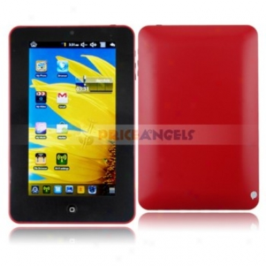 4g Android System Via 8650 800mhz 7-inch Touch Screen Tablet Pc Laptop With Camera Wifi(red)
