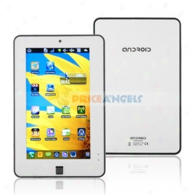 4gb Android 2.2 Via 8650 800mhz Cpu 7-inch Touch Screen Tablet Pc Laptop In the opinion of Phone Function(white)