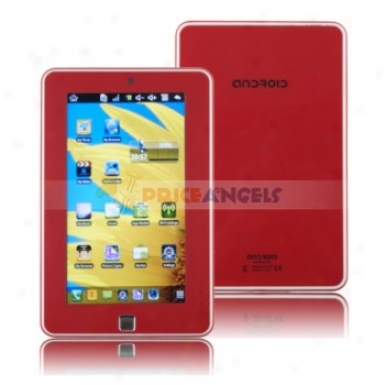 4gb Android 2.2 Via 8650 800mhz Cpu 7-inch Touch Screen Tablet Pc Laptop With Phone Function(red)