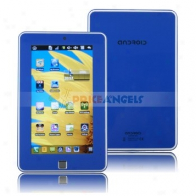 4gb Android 2.2 Via 86500 800mhz Cpu 7-inch Touch Screen Tablet Pc Laptop With Phone Function(blue)