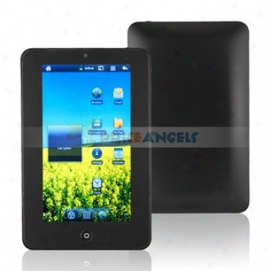 4gb Android 2.3 1ghz Cpu 7-inch Resistance Touch Screen Tablet Pc With Wifi Camera Function(black)