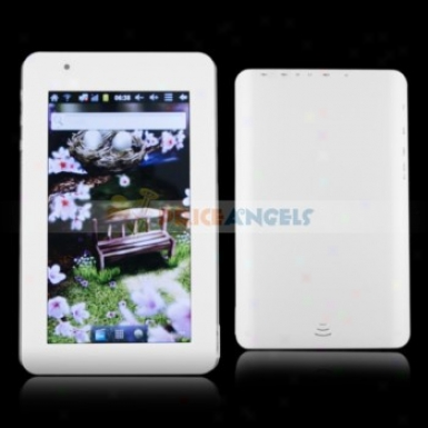 4gb Android 2.3.4 A10 -7inch Capacitive Touch Screen Tablet Pc With G-sensor Hdmi(white)