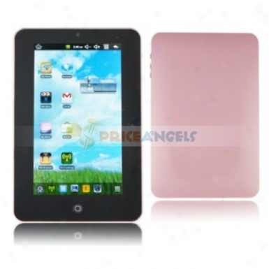 4gb Android System Via 8650 800mhz 7-ihh Touch Screen Tablet Pc Laptop With Camera Wifi Scallop