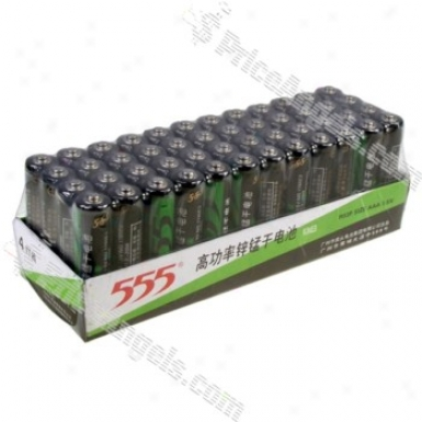 555 High Power 1.5v Aaa Battery(48-pack)