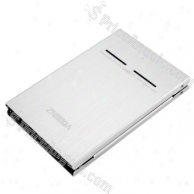 5800mah External Battery Pack For Iphone/cell Phone/psp Upon Cellphone Adapters(silver)