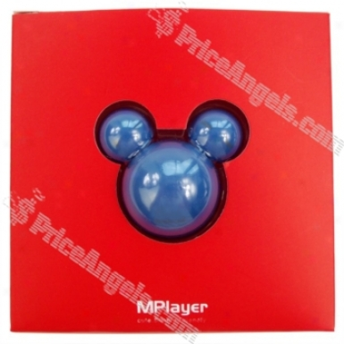 5th GenerationM ickey Mouse 10-led Face Cbanging 2gb Mp3 Player (Stab)