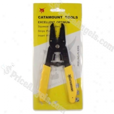 7-in-1 1043 Cable Cutter And Stripper Steel Tool