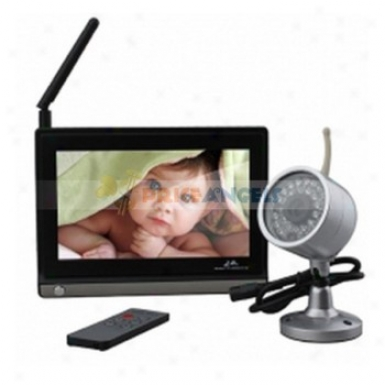 7-inch 2.4g Wireless Baby Monitor & Night Vision Wireless Camera Set With Rc