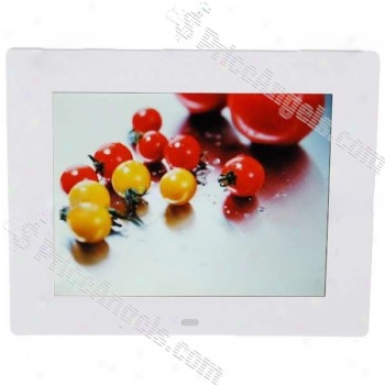 8-inch Tft Lcd Digital Photo Frame By the side of Sd/mmc/ms/xd/usb Host/mini Usb (800*600px)