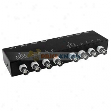 8-way Twisted Pair Video Transmission(black)