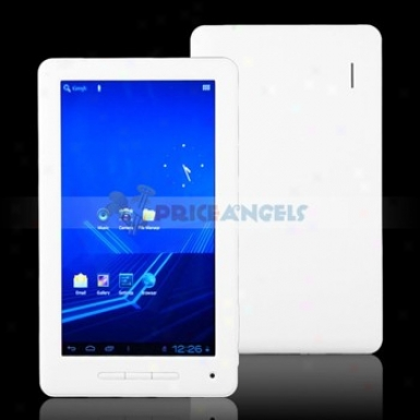 8gb Android 4.0.3 A10 7-inch Capacitive Touch Screen Tablet Pc Upon Wifi/hdmi(white)