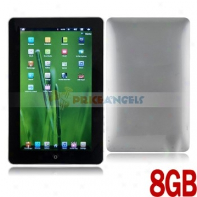 8gb Android 4.0.3 Cortex A8 1ghz 10.1-inch Resistance Touch Screen Tablet Pc Laptop With Camera Wi fi(silver)