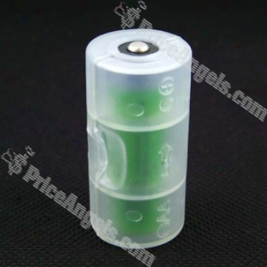 Aa Battery To C Battery Adaptor
