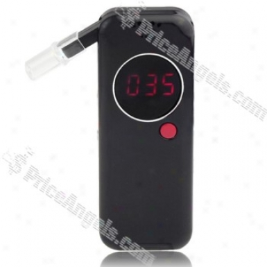 Ad-6000ws Digial Display Alcohol Concentration Breath Tester-black