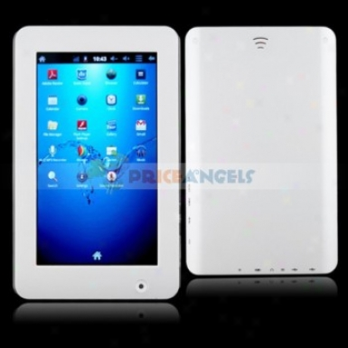 Amoi V7f 8gb Android2.3 A10/1.5ghz 7-inch Capacitive Touch Screen Tablet Pc Laptop With Wifi/3g/camera(white)