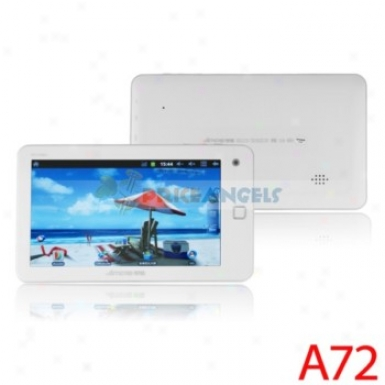 Ampe A72 8gb Android 2.3.4 1.5ghz Cpu 7-inch Capacitive Touch Screen Tablet Pc(white)