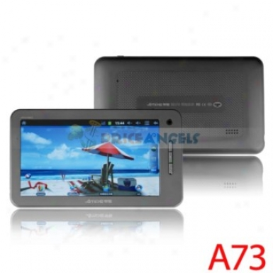 Ampe A73 8gb Android 2.3.4 1.5ghz Cpu 7-indh Capacitive Touch Screen Tablet Pc(black)