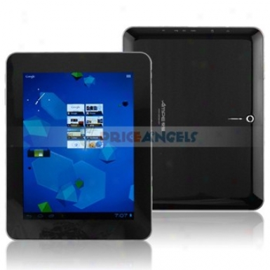 Ampe A85 8-inch Capacitive Touch Screen 8f Android 2.3 Tablet Pc Laptop With Camera/wifi(black)