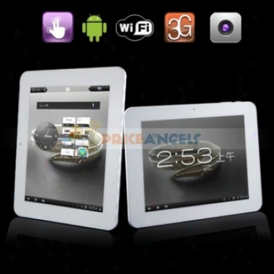 Ampe A85 8gb Android 4.0.3 1.5ghz 8-inch Capacitive Touch Screen Tablet Pc With G-sensor/wifi (silver)