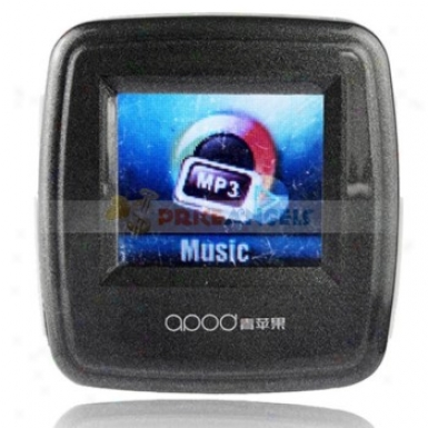 Apod Portable 2gb 1.1-inch Screen Stereo Mp3 Player Wiyh Recorder(black)