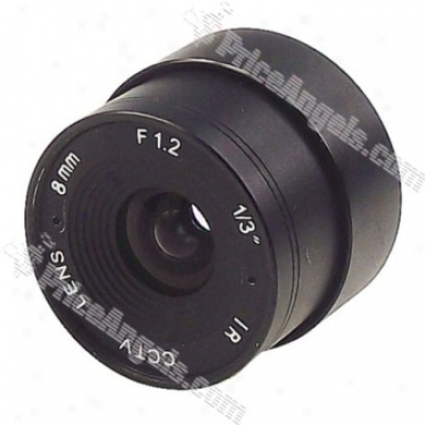 Avenir 1/3-inch Fixed Camera Cctv Lens Ssee0812ni(8.0mm F/1.2 Ir)