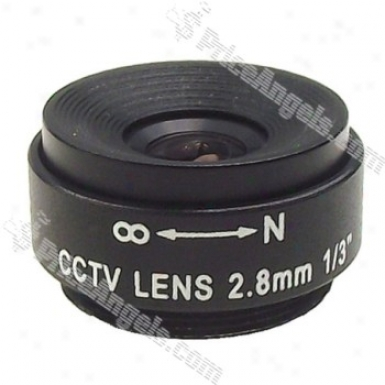 Avenir 1/3-inch Fixed Camera Cctv Lens Sse2812ni(2.8mm F/1.2)