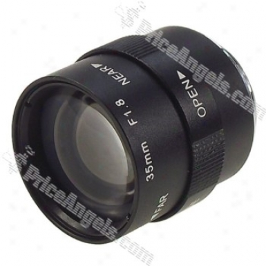Avenir Manually Operated Camera Cctv Lens(35mm F/1.8)