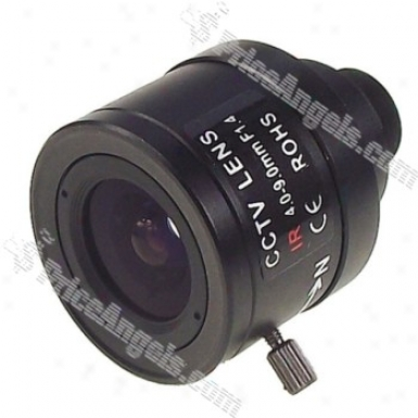 Avenir Manually Operated Ir Camera Cctv Lens(4-9mm F/1.4)