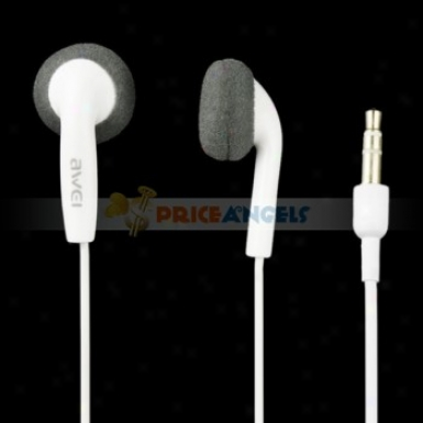 Awei Es10 Simply Sound Stereo Bass In-ear Headphone Earphone