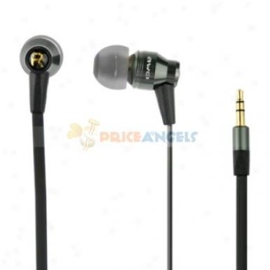 Awei Es800m Fashion Noodle Metql In-ear Headphone Earphond