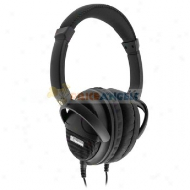 Ch-l803 Adjustable 3.5mm Stereo Hi-fi H3adset Headphone Earphone For Computer Mp3 Mp4 Cell Phone(blac)