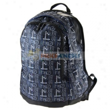 City Impression Style Canvqs Handy Laptop Backpack For Walk Camp Hike Mountaineering