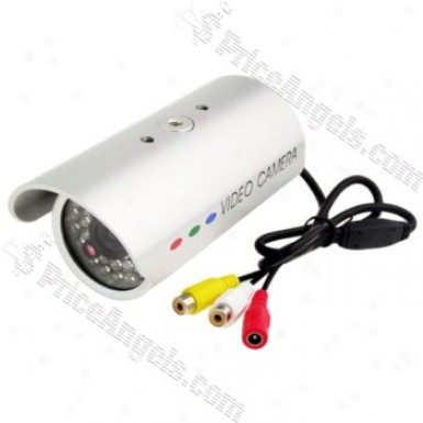Cm804ca-b-30 30-led 380tv Cover with ~s Ccd Cctv Camera-silver