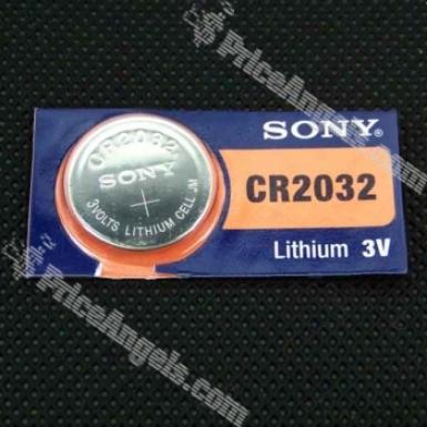 Cr2032 Lithium 3v Cell Battery