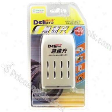 Delipow Digital Aaa/aa Battery Ac Charger(100-240v)