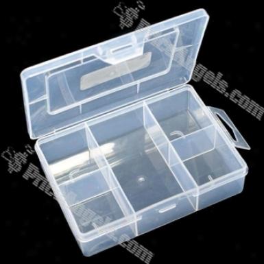 Diy Parts Organizer Toolbox (5 Secctions)