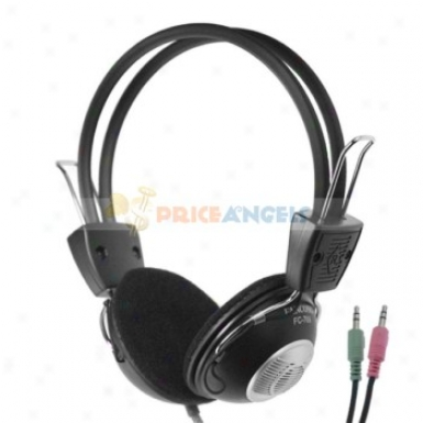 Fancong Fc-769 On-ear Hi-fi Stereo Headphone Headset With Microhone(black)