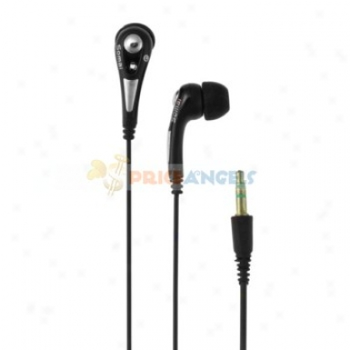 Feinier 3.5mm Jack Stable Comfortable In-ear Earphones For Computer/cell Phone(black)
