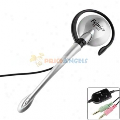 Feinier Fe-305 Hook Style In-ear Stereo Earphone With Microphone/volume Control