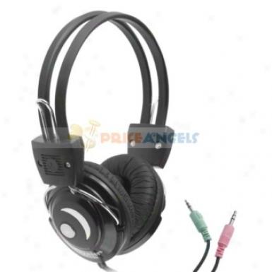 Feinier Fe-759 On-ear Hi-fi Stereo Headphon eHeadset With Microphone(black)